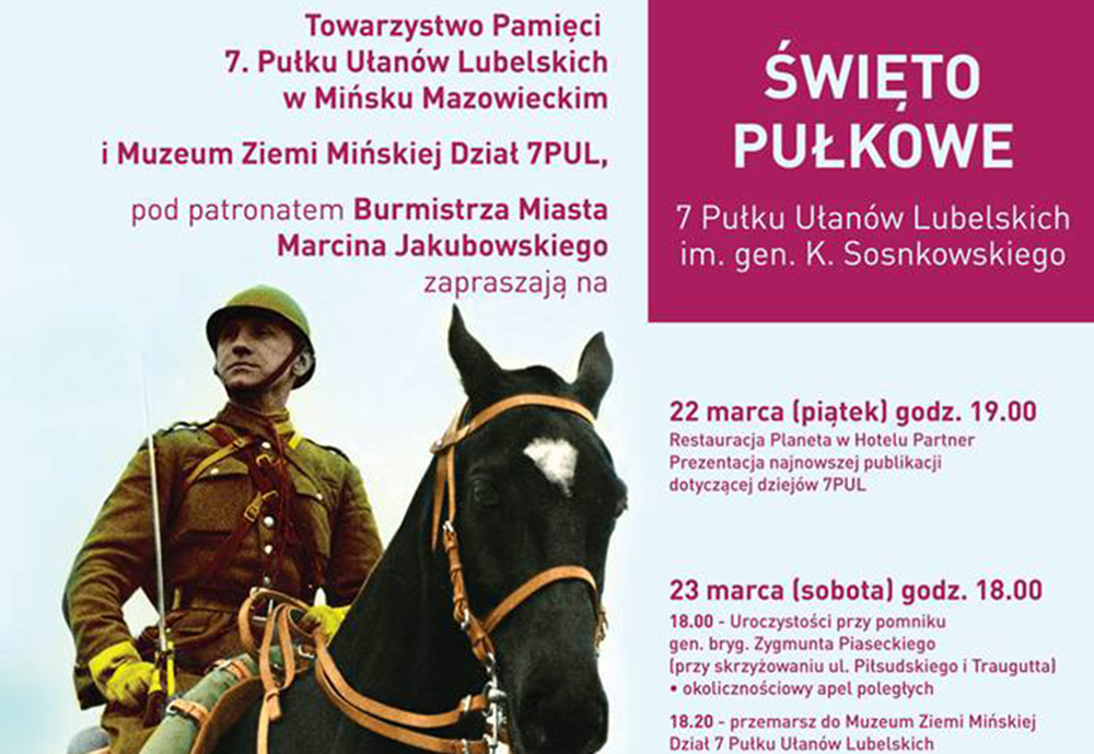 Święto Pułkowe 7 PUL