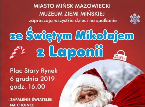 Mikołaj zLaponii wMińsku Mazowieckim