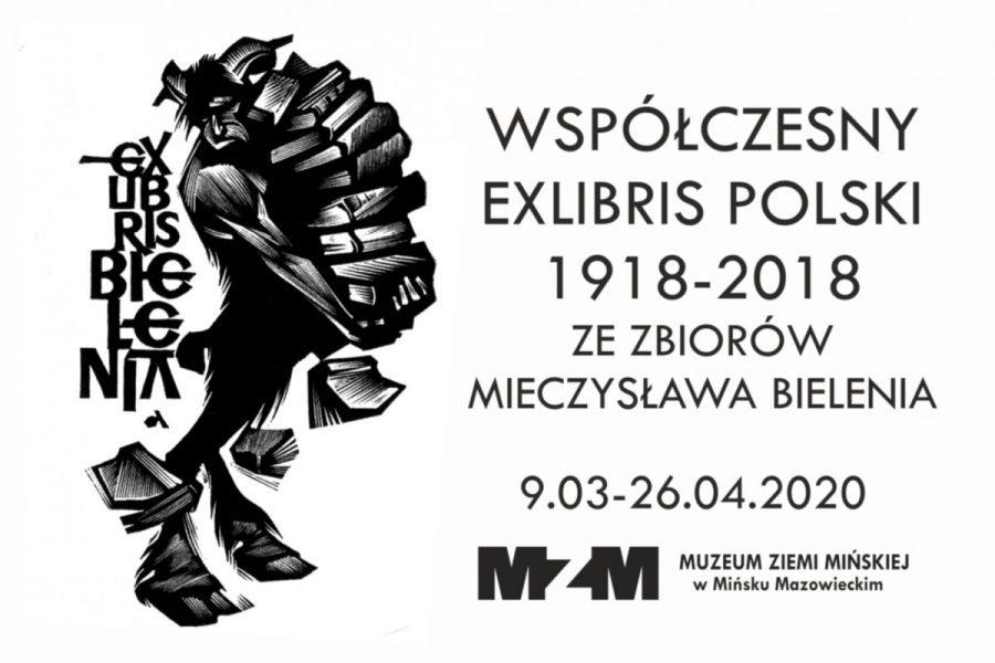 Współczesny exlibris polski 1918 – 2018 zezbiorów Mieczysława Bielenia
