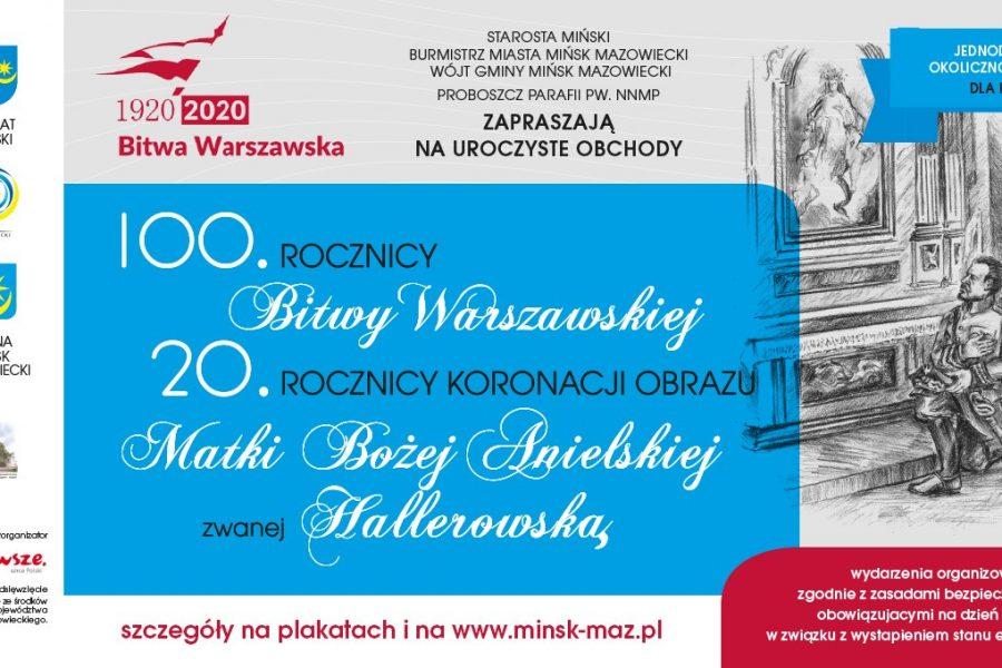 100. Rocznica Bitwy Warszawskiej i20. Rocznica Koronacji Obrazu Matki Bożej Anielskiej