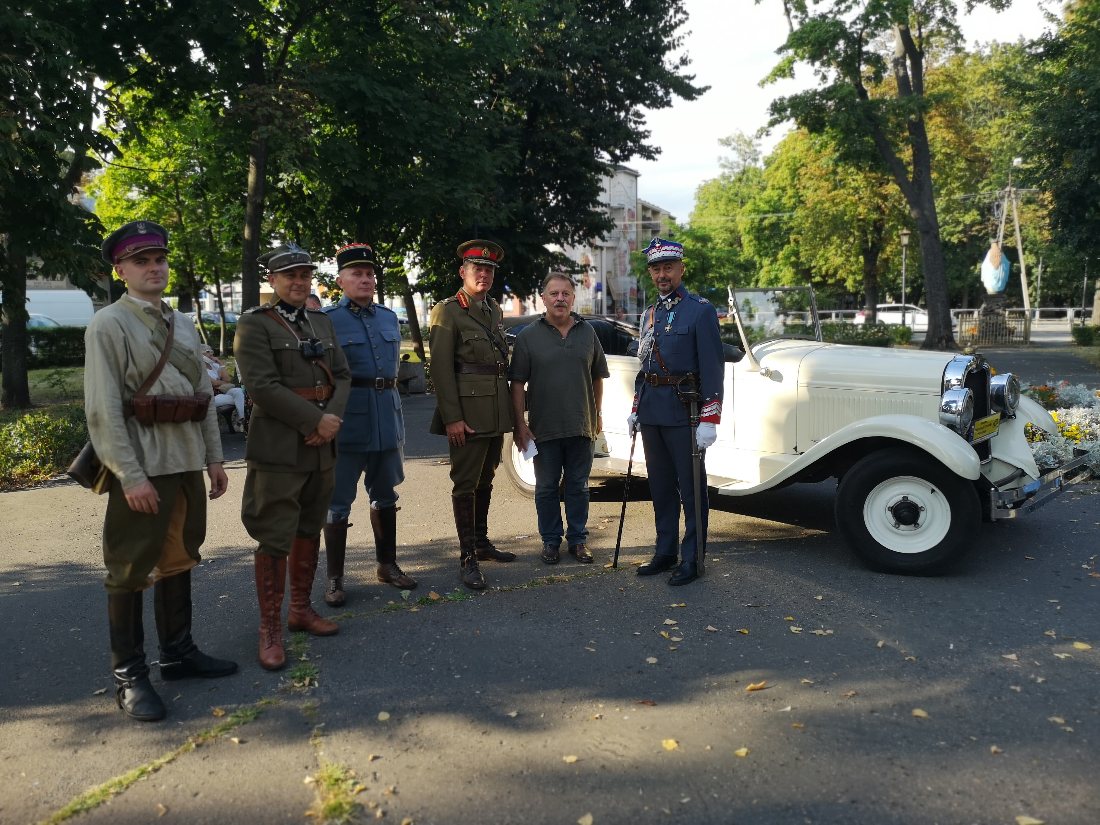 Inscenizacja przyjazdu gen. Hallera do Mińska Maz. w 1920 roku – 17.08.2020