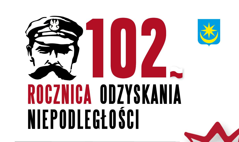 102. Rocznica Odzyskania Niepodległości wMińsku Mazowieckim