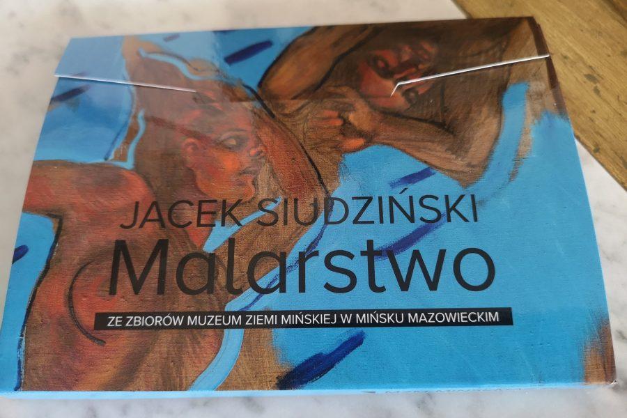 Pocztówki zmalarstwem Jacka Siudzińskiego wetui