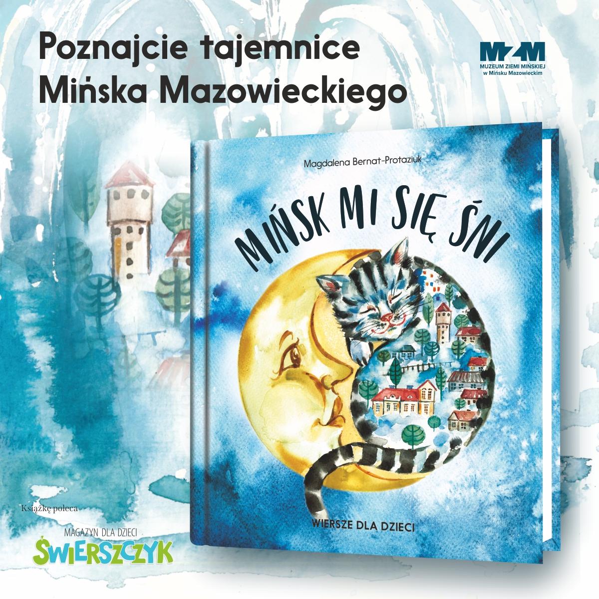 Mińsk mi się śni – wiersze dla dzieci – już wsprzedaży!