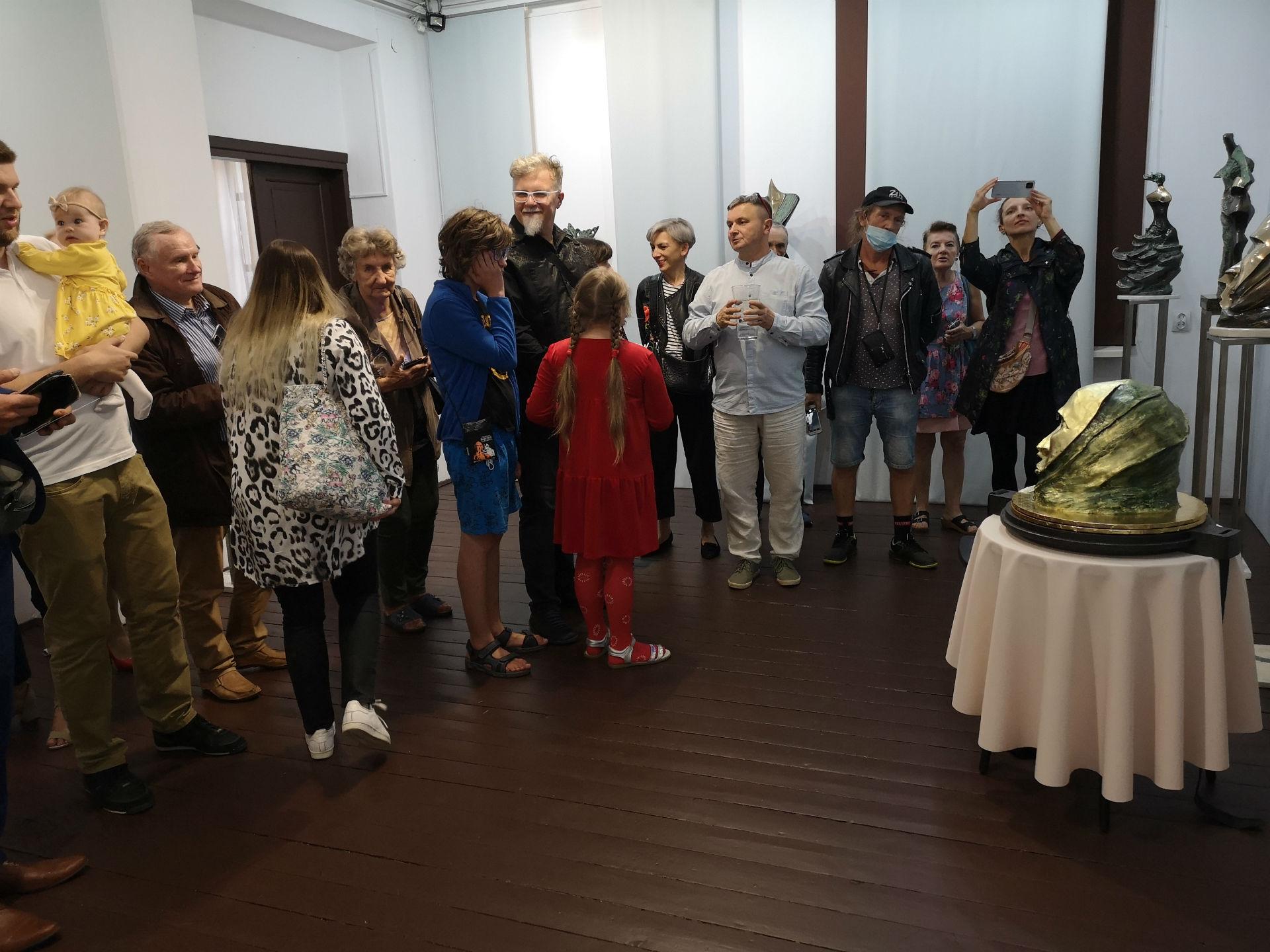 Wernisaż wystawy Rzeźby z kolekcji Pawła Wąsowskiego